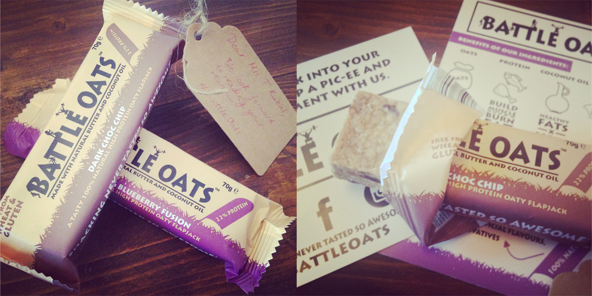 Review Battle Oats Protein Bars