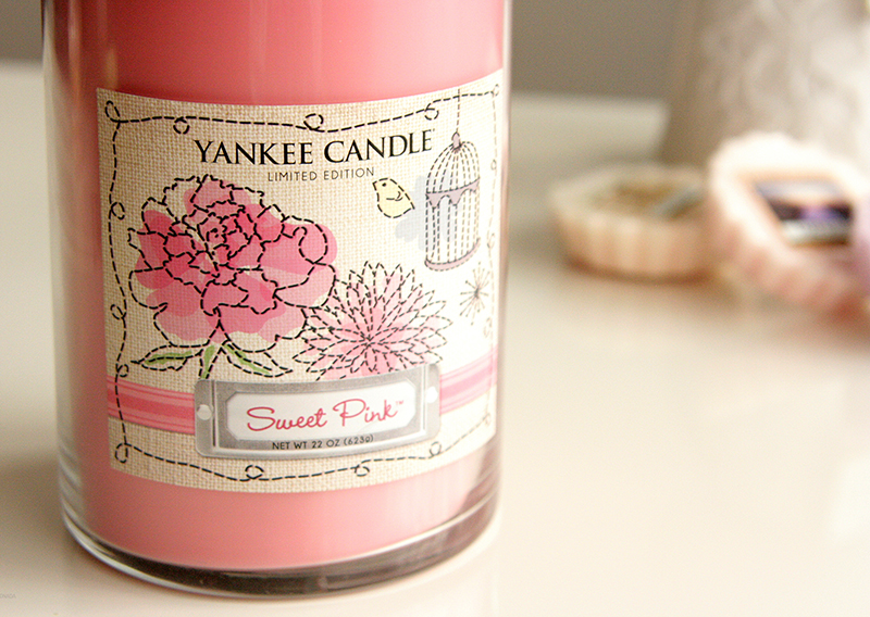 REVIEW | YANKEE CANDLE SWEET PINK LIMITED EDITION