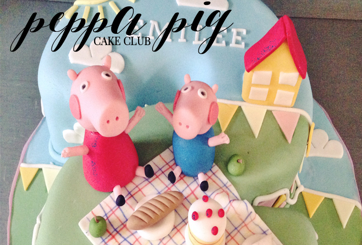 CAKE CLUB | PEPPA PIG BIRTHDAY CAKE