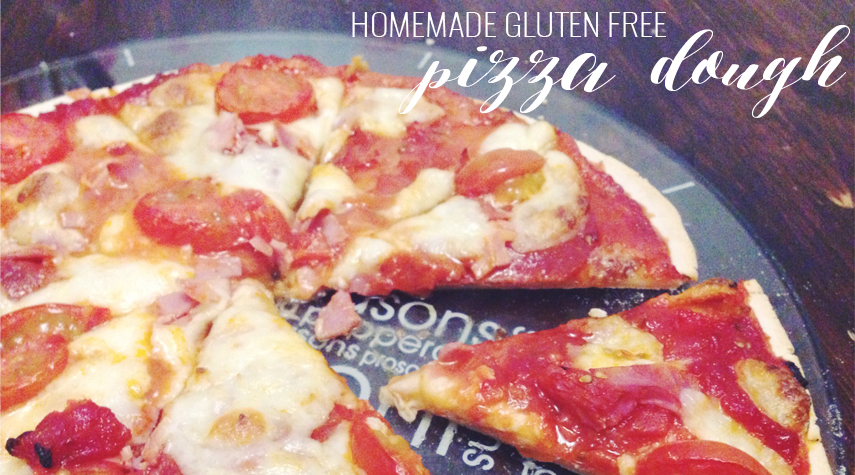 RECIPE | HOMEMADE GLUTEN FREE PIZZA DOUGH