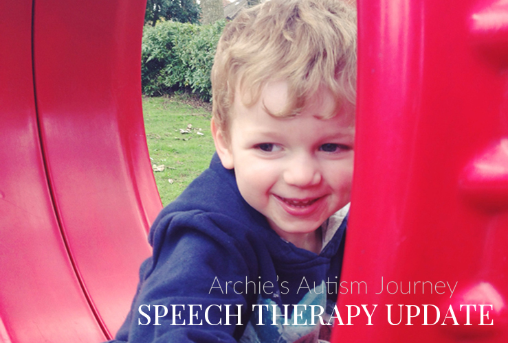 ARCHIE'S AUTISM JOURNEY #5 | A SPEECH THERAPY UPDATE