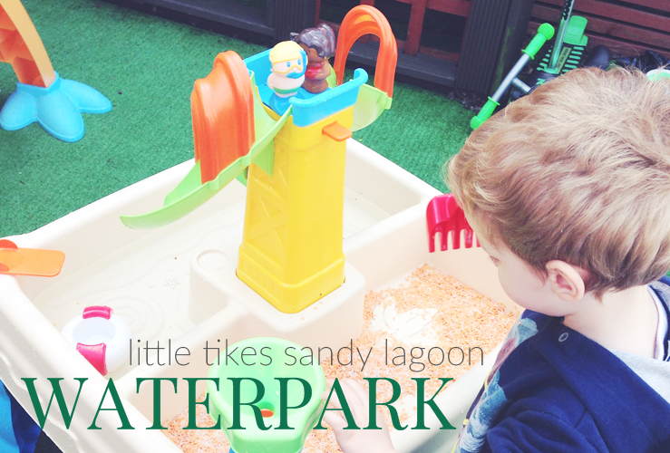REVIEW | LITTLE TIKES SANDY LAGOON WATERPARK