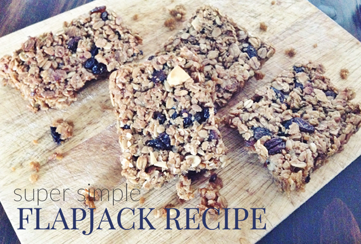 RECIPE | SUPER SIMPLE FLAPJACK