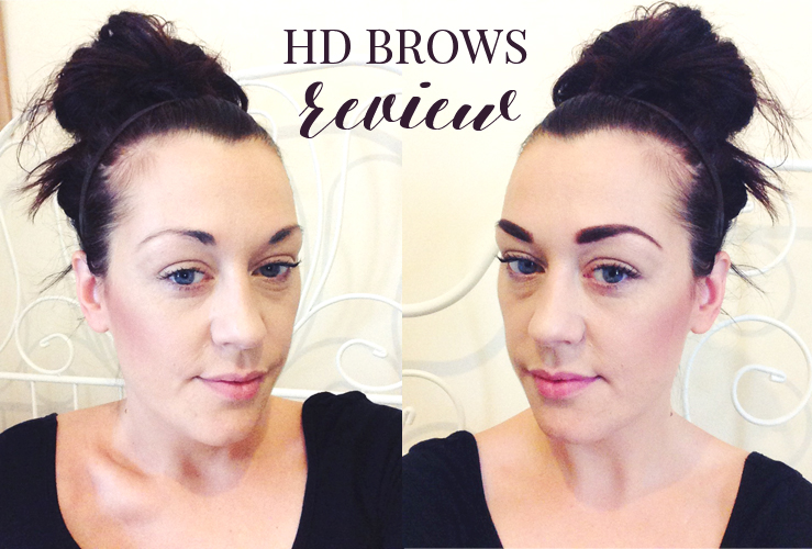 LOVING MY LUSH HD BROWS