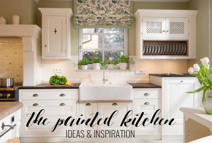 THE PAINTED KITCHEN | IDEAS & INSPIRATION