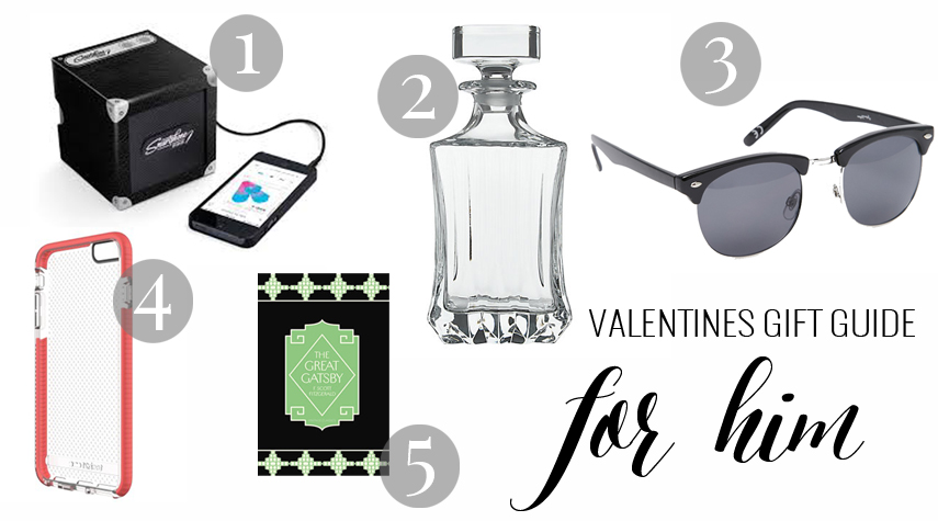 MY VALENTINES GIFT GUIDE FOR HIM