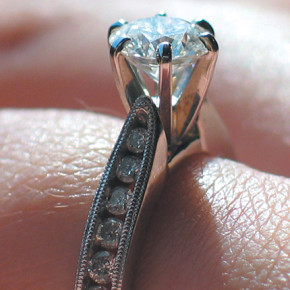 Handmade va Cast Made Diamond Rings - know the difference