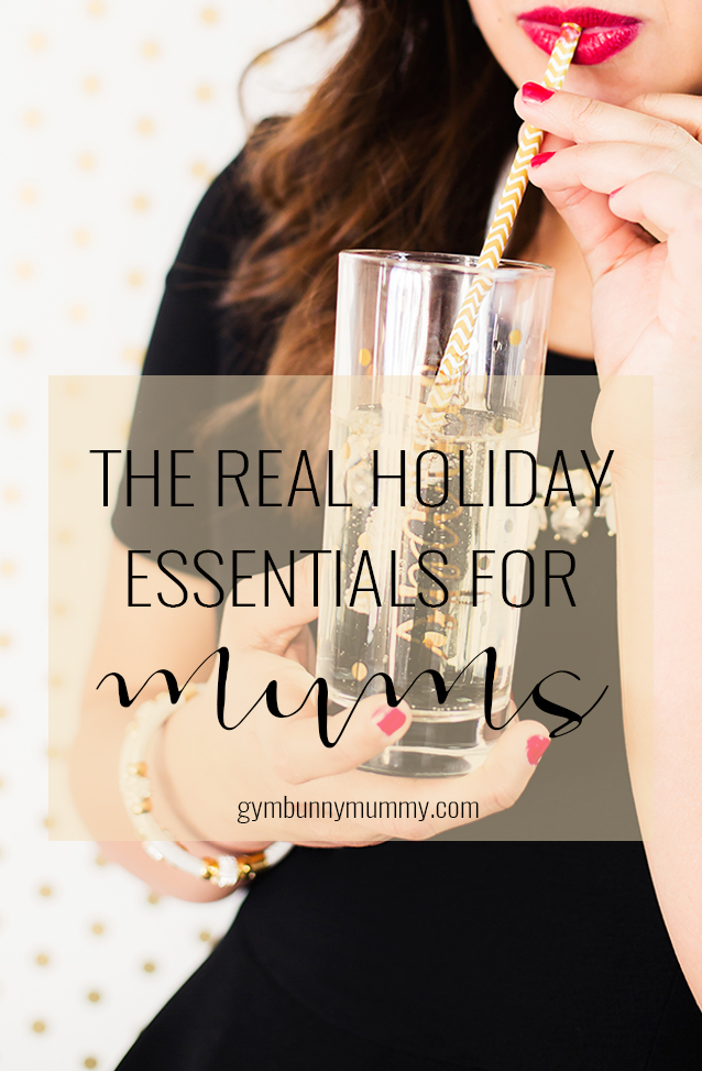 The Real Holiday essentials for mums! @gymbunnymum