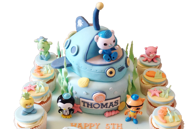 EPIC OCTONAUTS BIRTHDAY CAKE CUPCAKES This Mama Life Style