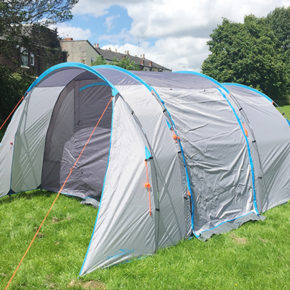 ALDI 5 man tent review plus the fab new camping range from the ALDI Special Buys