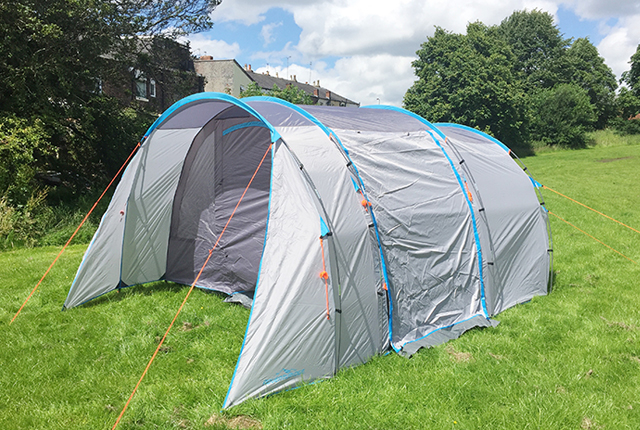 ALDI 5 MAN TENT REVIEW PLUS THE FAB NEW SPECIAL BUYS CAMPING RANGE