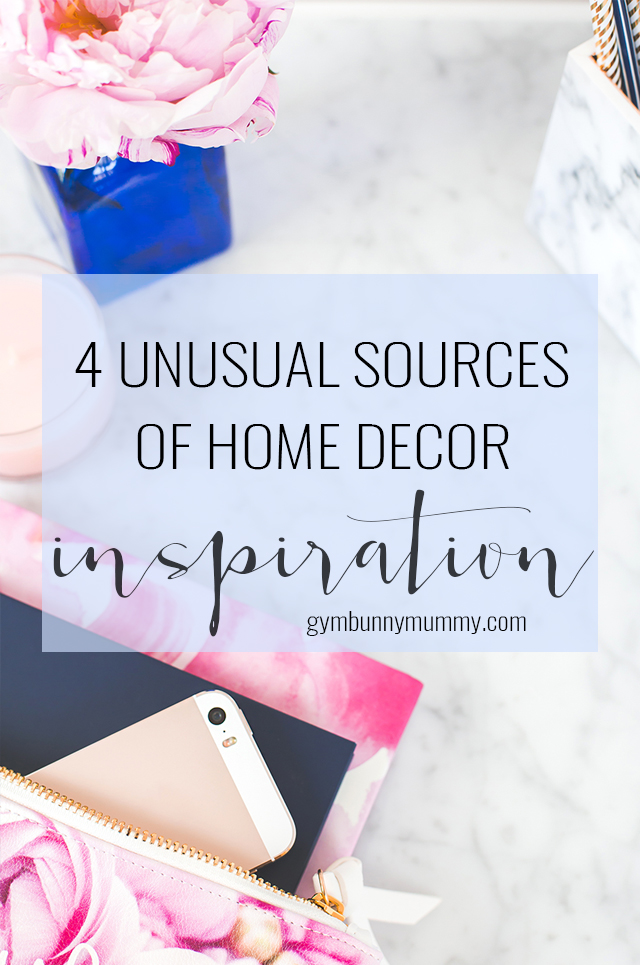 These are all great sources for inspiration, but they are not the only places you can turn to when you need an interior design fix. Here are four unusual places that you can turn to when you need home decor ideas.
