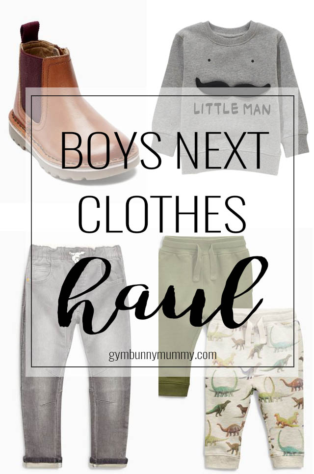 Boys Next Clothing Haul | Toddler, young boys age 4-5 clothing plus haul video