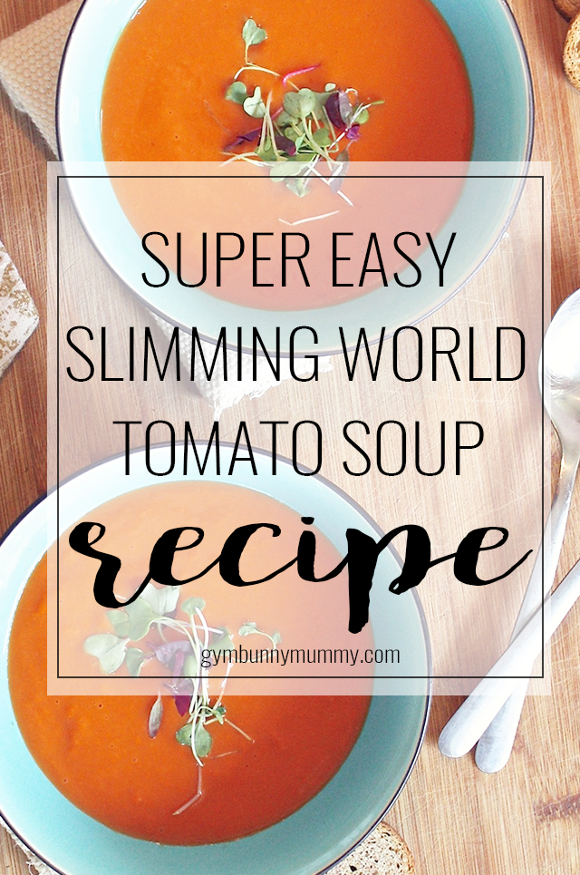 Super Easy Slimming World Tomato Soup Recipe This Mama