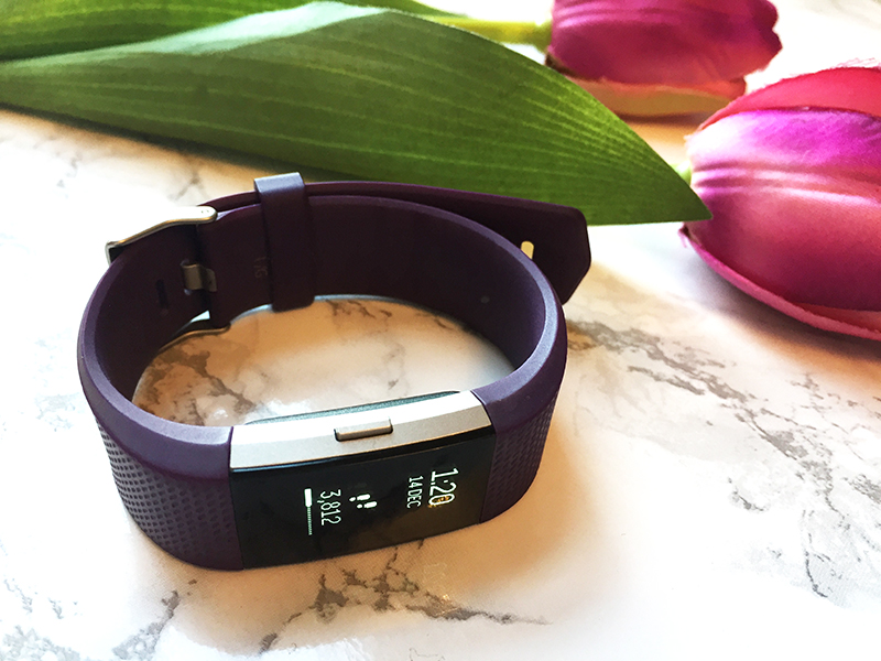 FitBit Charge 2 in purple | How I use my FitBit as a busy mum