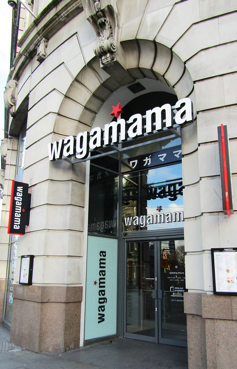 Wagamama Manchester Printworks review