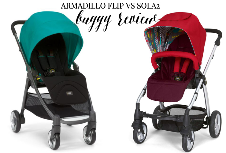 MAMAS AND PAPAS PUSHCHAIR REVIEW | ARMADILLO FLIP VS SOLA