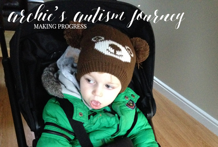 ARCHIE'S AUTISM JOURNEY #3 MAKING PROGRESS