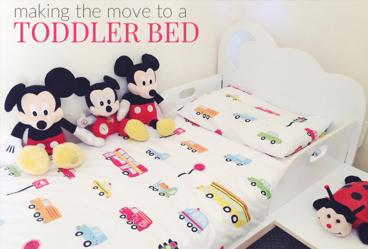 MAKING THE MOVE TO A TODDLER BED