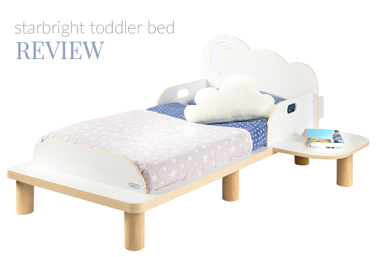 REVIEW | STARBRIGHT TODDLER BED