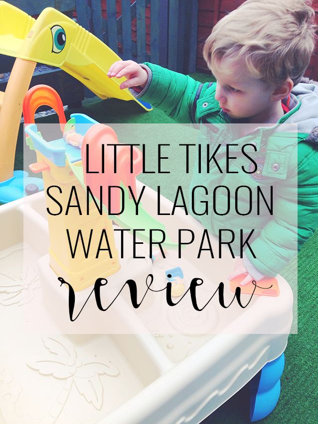 Little Tikes Sandy Lagoon Waterpark Review @gymbnnymum