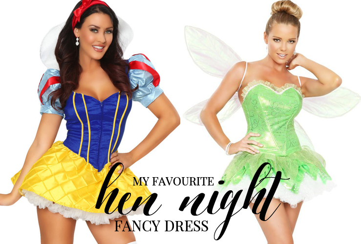 MY FAVOURITE HEN NIGHT FANCY DRESS OUTFITS