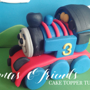 How to make a Thomas & Friends Cake Topper