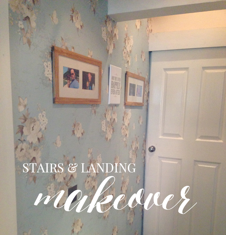 OUR STAIRS & LANDING MAKEOVER