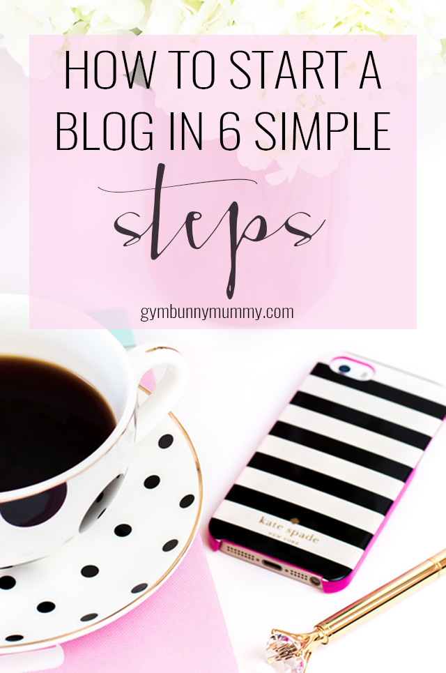 How to start a blog in 6 simple steps, a step by step guide plus lot's of blogging tips. So you want to start a blog? Maybe you've been reading some and thought I would love to do that. Maybe you want to start a blog for your work or business. Well the good news is it's pretty simple to get started. The harder part comes once you actually start writing. When I started my blog I was pretty clueless, I had no experience in blogging and learnt along the way, but I did have experience in marketing and branding which has been a huge help in making my blog successful.