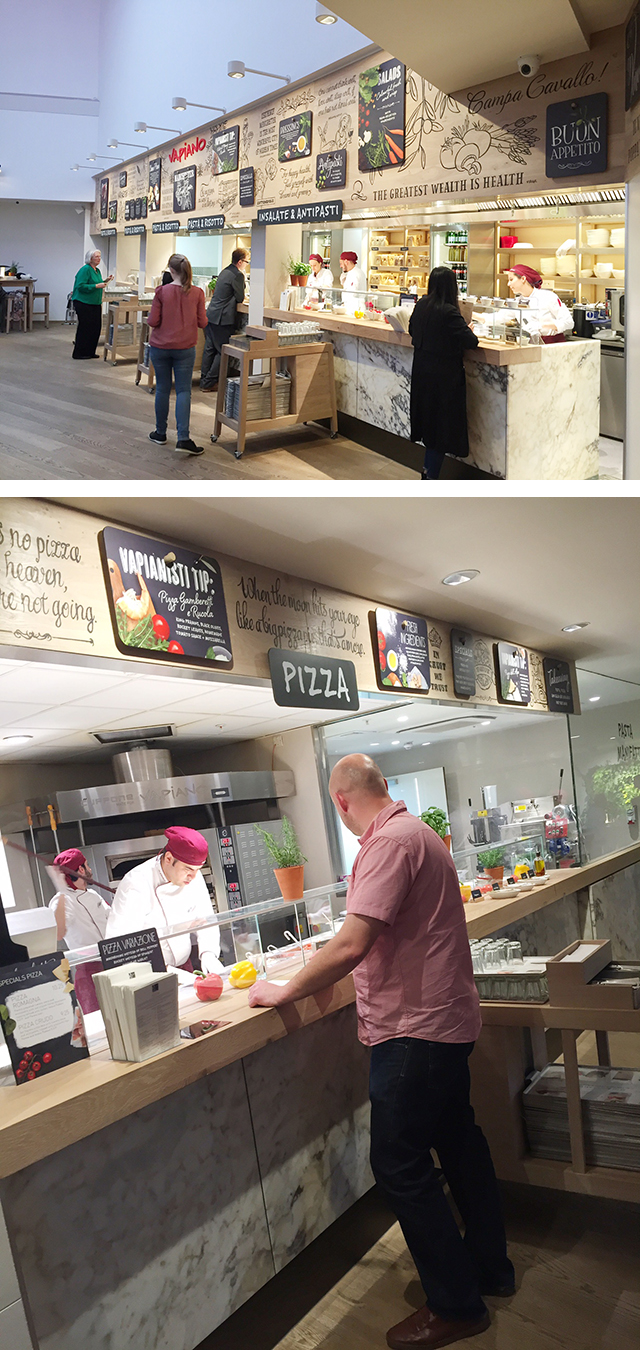 Vapiano Manchester restaurant review, eat pasta run faster! @gymbunnymum