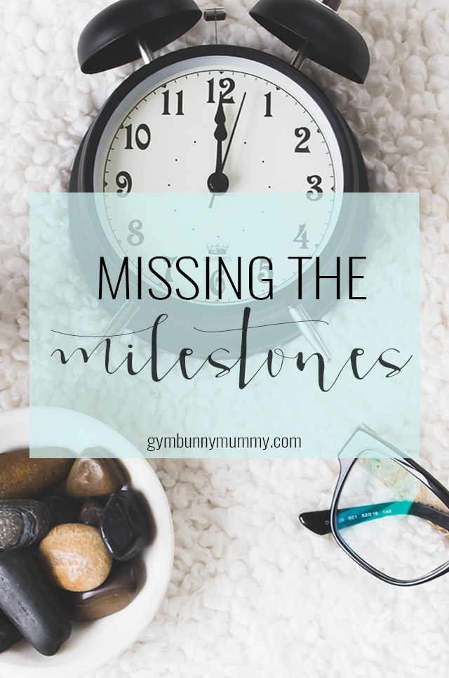 I try not to think about the milestones. Trying to figure out if your child is hitting their milestones can drive you crazy, especially when everyone else's children seem to be doing so much before you child. The milestones that I'm finding harder to deal with are the small thing you take for granted. The small things I took for granted with my first child.