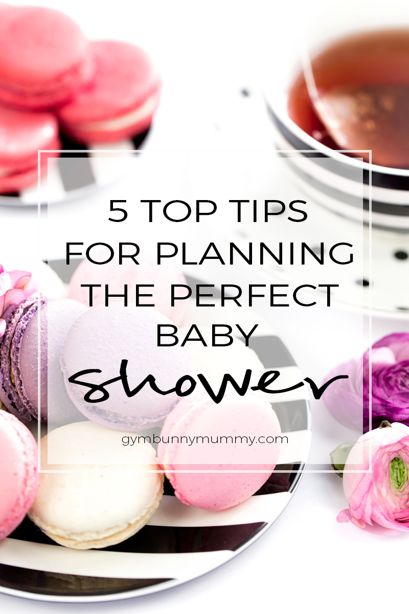5 Top tips for planning the perfect baby shower