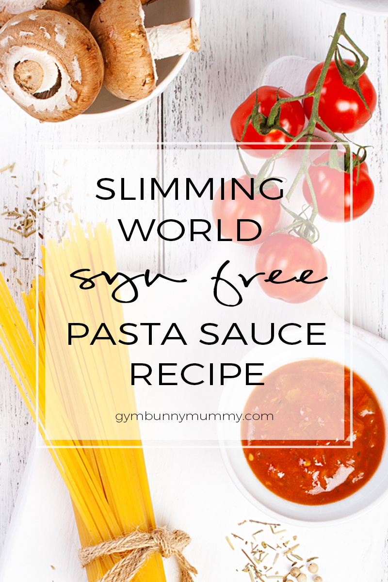 Slimming world pasta sauce recipe syn free this mama Slimming world recipes for 1 person