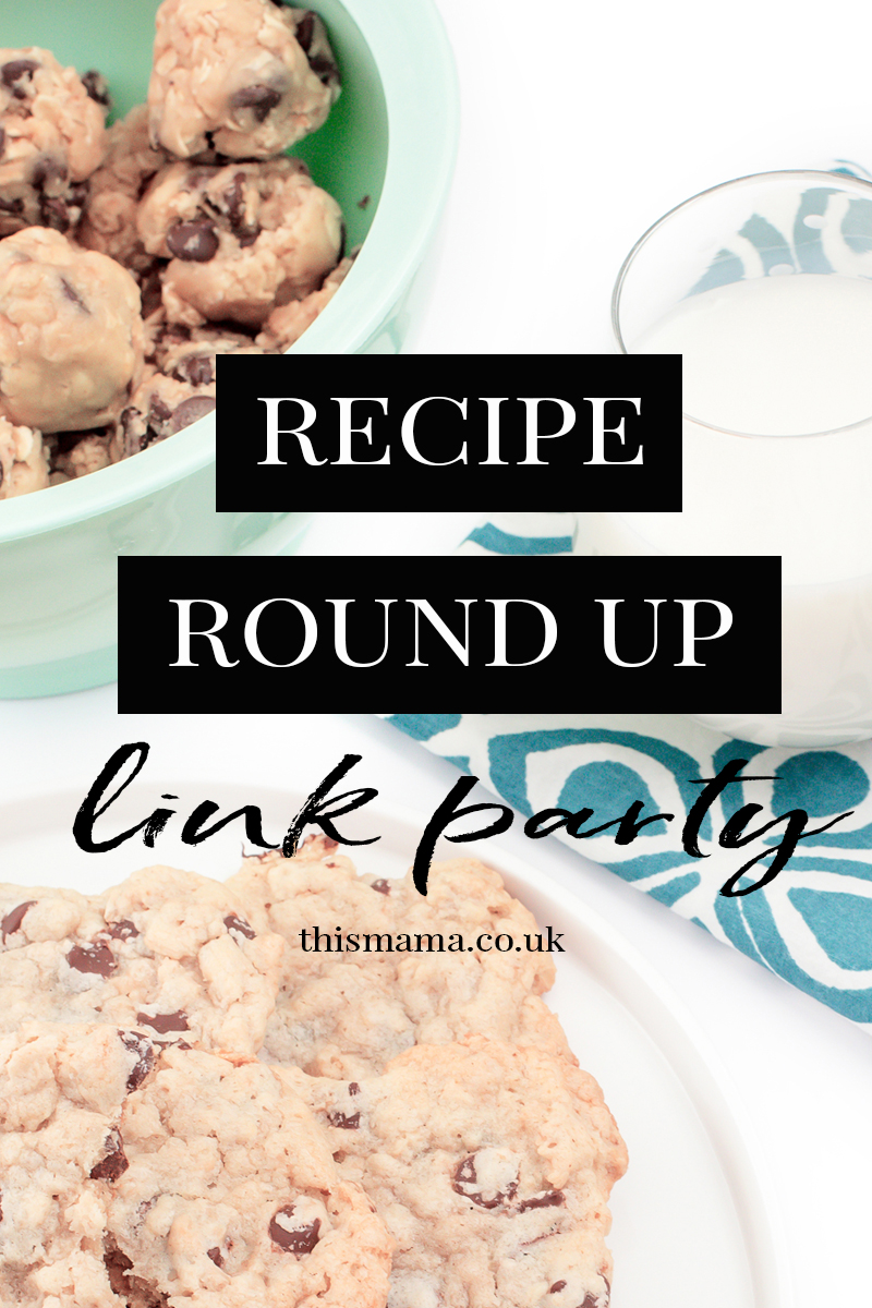 The Recipe Round Up link party hosted by @thismamablogs